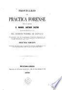 Prontuario de práctica forense