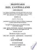 Prontuario del cantollano gregoriano