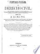 Prontuario-programa de derecho civil
