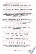 Propugnaculo historico-canonico-politico-legal