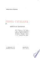 Prosa catalana
