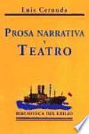 Prosa narrativa y teatro
