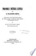 Prosodia i métrica latinas