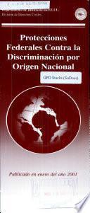 Protecciones federales contra la discriminación por origen nacional