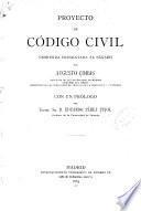 Proyecto de Código civil