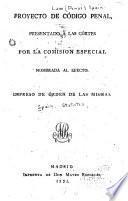 Proyecto de código penal