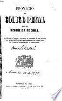 Proyecto de código penal para la República de Chile