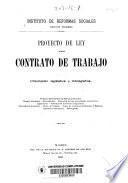 Proyecto de Ley sobre contato de trabajo
