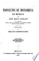 Proyectos de monarquía en México
