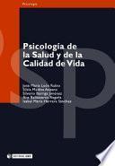 Psicología de la salud y de la calidad de vida
