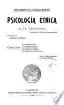 Psicología étnica, 4