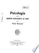 Psiocología de la aptitud matemática del niño