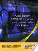 Publicaciones científicas de interés para profesionales sanitarios.