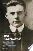 Publicado en Toronto 1920-1924