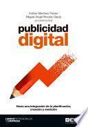 Publicidad digital. Hacia una integración de la planificación, creación y medición