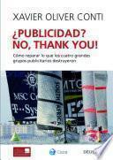 ¿Publicidad? No, thank you