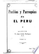 Pueblos y parroquias de el Perú