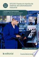 Puesta en marcha de sistemas de automatización industrial. ELEM0311