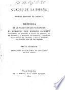 Quadro de la España desde el reynado de Carlos IV
