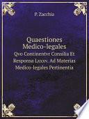 Quaestiones medico-legales