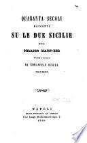Quaranta secoli racconti su le Due Sicilie del Pelasgo Matn-Eer