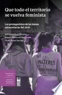 Que todo el territorio se vuelva feminista. Las protagonistas de las tomas universitarias del 2018