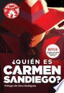 ¿Quién es Carmen Sandiego?