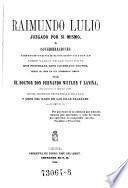 Raimundo Lulio juzgado por si mismo