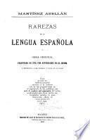 Rarezas de la lengua española