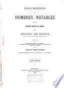 Rasgos biográficos de hombres notables de la república oriental del Uruguay