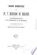 Rasgos biográficos del Dr. D. Bernardo de Irigoyen, candidato á la presidencia de la República