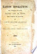 Rasgos biográficos del General en Jefe Antonio José de Sucre, gran mariscal de Ayacucho