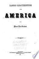 Rasgos característicos de América