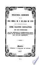 Real cédula de 9 de julio de 1829, para la elección en Madrid del Banco Español de San Fernando, con las adiciones y modificaciones aprobadas en las Reales órdenes posteriores que van por apéndices