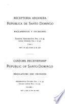 Receptoría aduanera República de Santo Domingo