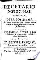 Recetario medicinal espagirico