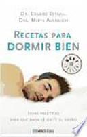 Recetas para dormir bien