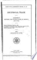 Reciprocal Trade Agreement Between the United States of America and Cuba