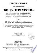 Recitaciones del derecho civil, 2