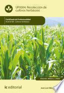 Recolección de cultivos herbáceos. AGAC0108