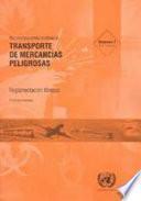 Recomendaciones Relativas al Transporte de Mercancías Peligrosas