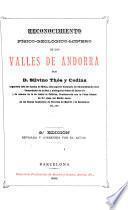 Reconocimiento físico-geológico-minero de los valles de Andorra