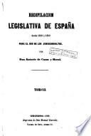 Recopilación concordada y comentada de la colección legislativa de España para el uso de los juriconsultos, 7
