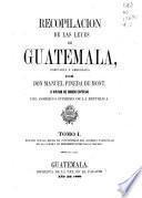Recopilación de las leyes de Guatemala