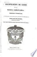 Recopilación de leyes de la Nueva Granada