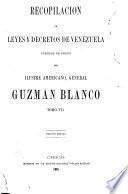 Recopilación de leyes y decretos de Venezuela