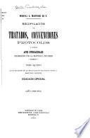 Recopilación de tratados y convenciones celebrados entre la República de Chile y las potencias extranjeras: 1898-1901