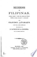 Recuerdos de Filipinas ...