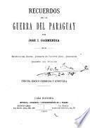 Recuerdos de la guerra del Paraguay