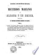 Recuerdos Marianos ó Albama y su madre
